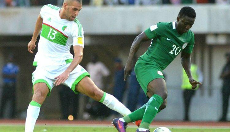 Super Eagles (Nigeria) Algeria