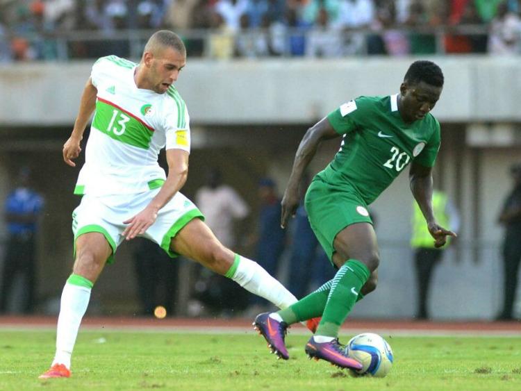 Photo of Super Eagles Draw Against Algeria In Constantine