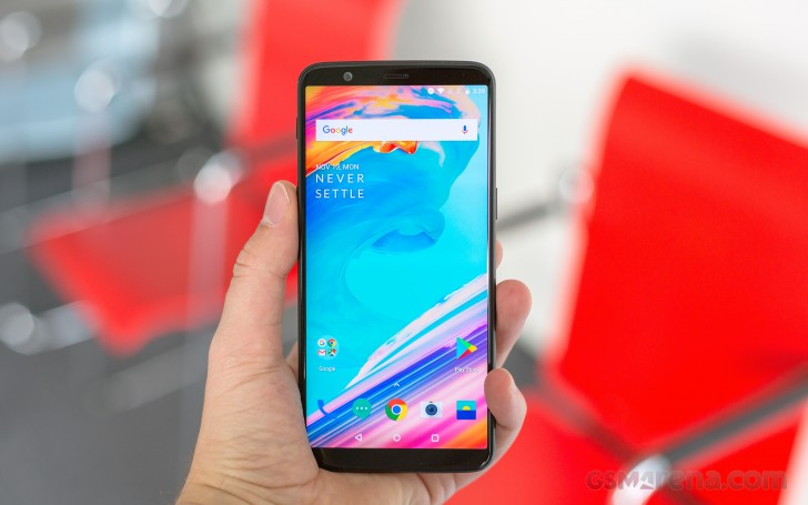 gsmarena 003 - OnePlus 5T smartphone Features and Specifications