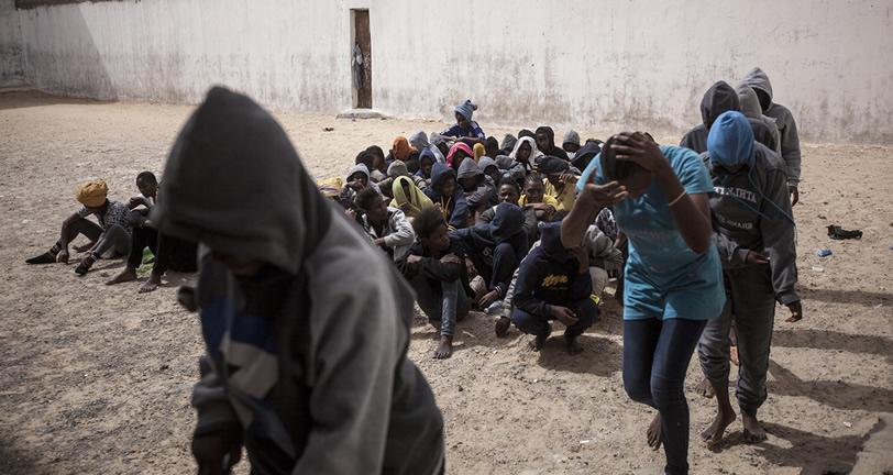 Libya Slavery