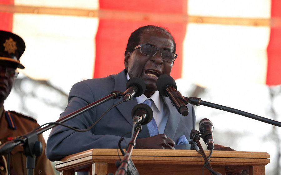 Photo of Mugabe Addresses Zimbabweans, Refuses to Announce His Resignation