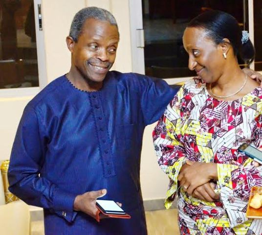 Photo of VP Osinbajo and Wife Celebrate 28th Wedding Anniversary