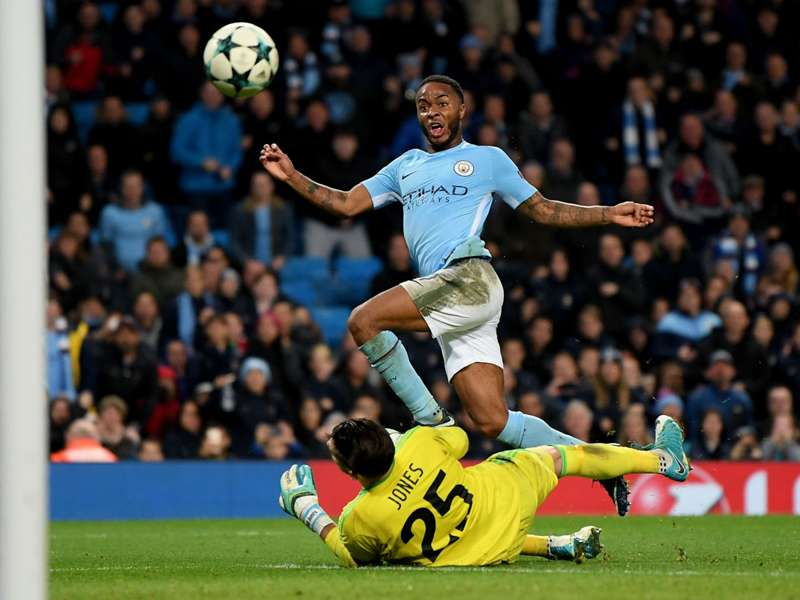 raheemsterling cropped 17g7zflsbhcto1i2bmlgxwn2x4 - VIDEO HIGHLIGHTS: Manchester City 1-0 Feyenoord (UEFA Champions League) (21-11-17)