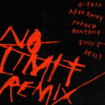"""Download G-Eazy – """"No Limit"""" (Remix) (ft. A$AP Rocky, French Montana, Juicy J & Belly)"""
