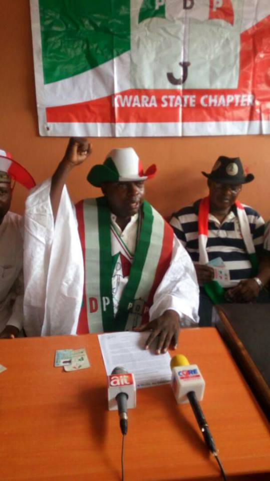 Photo of Kwara LG Election: My Stolen Mandate Must Be Returned – Musbaudeen Esinrogunjo