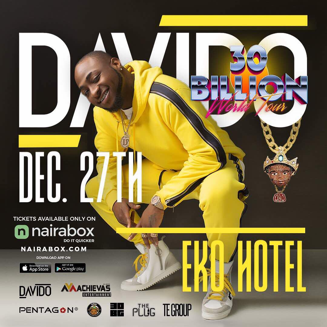 Photo of LIVE STREAM: Davido 30 Billion Concert