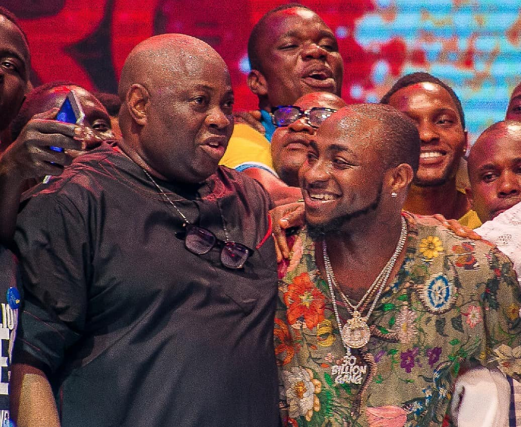 Photo of PHOTOS: Davido & Dele Momodu Finally Reconcile After Social Media Faceoff