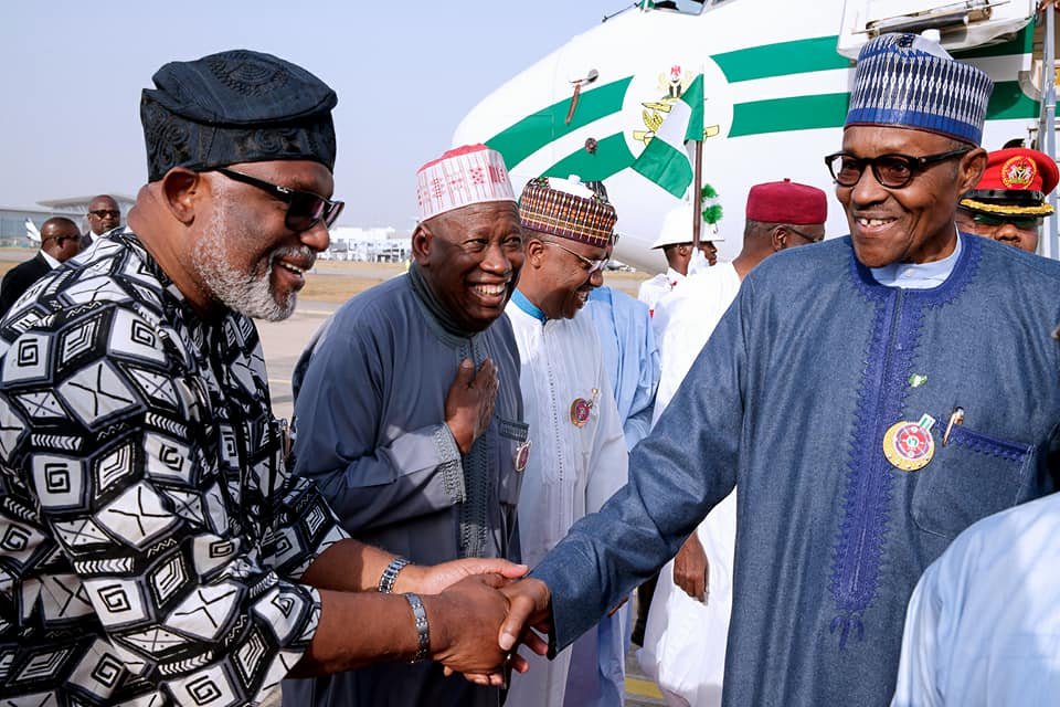 "Photo of President Buhari Returns to Abuja from Paris After ""One Planet"" Summit"