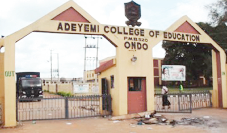Photo of Adeyemi College of Education, Ondo State (ACEONDO) 2017/2018 Degree Admission List Released