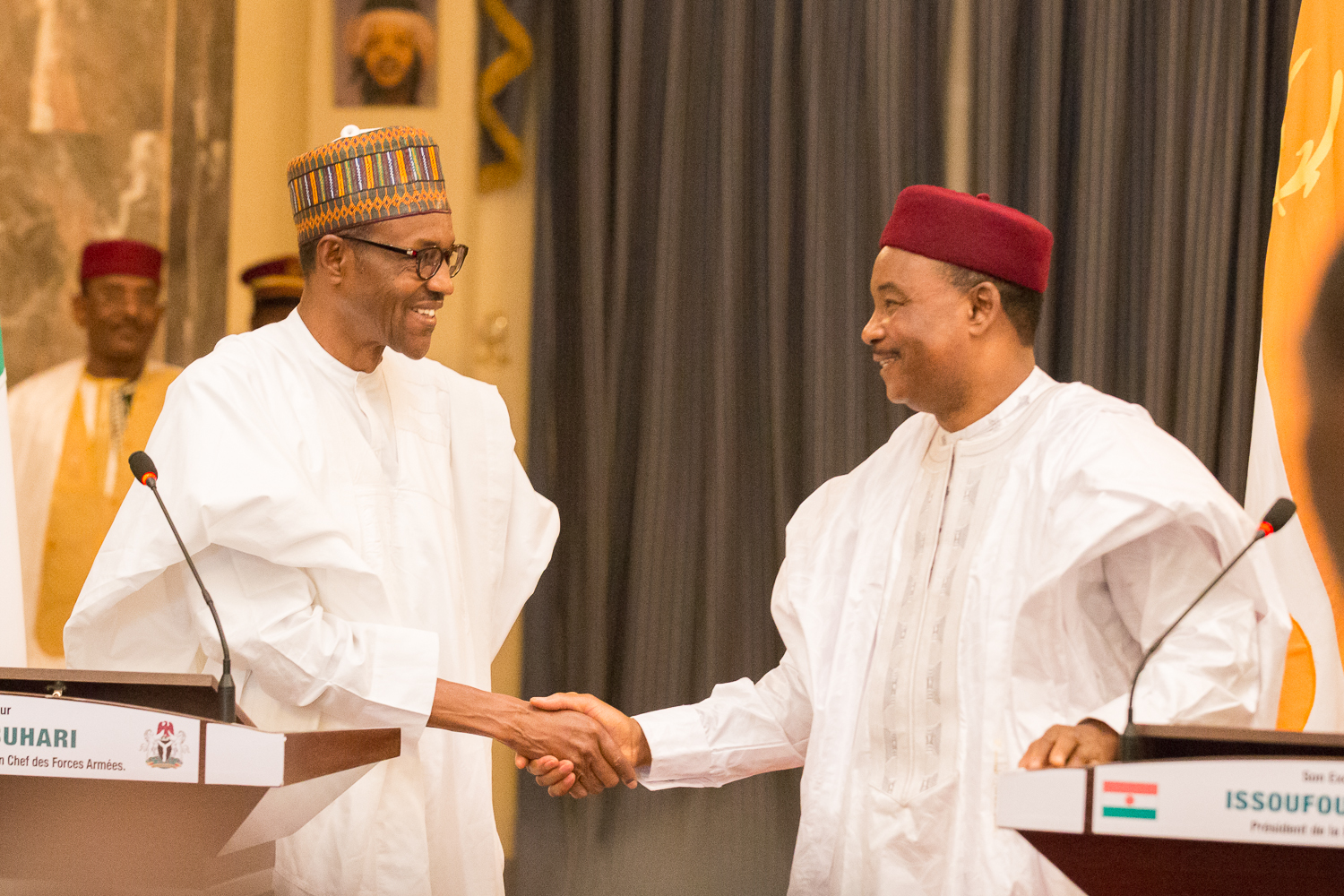 Buhari Niger 6 - President Buhari to Attend Niger Republic's 59th Independence Anniversary