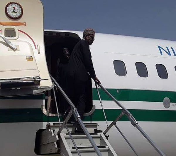 "Photo of PHOTOS: President Buhari Departs for France to Attend ""One Planet Summit"""