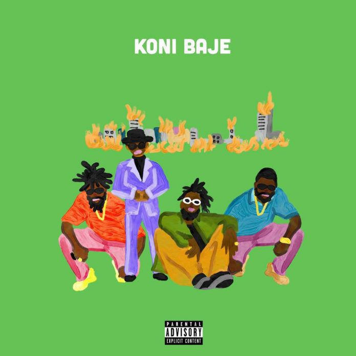 Download Burna Boy's Song 'Koni Baje' (MP3)