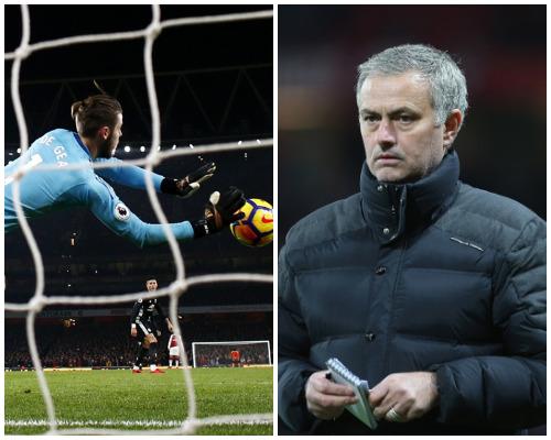 De Gea and Mourinho