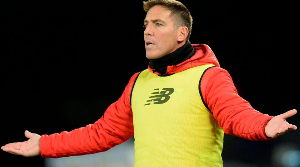 Photo of Sevilla Sack Coach Eduardo Berizzo After Cancer Surgery