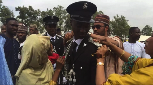 Photo of Emir Sanusi's First Son, Prince Aminu Joins Nigeria Police