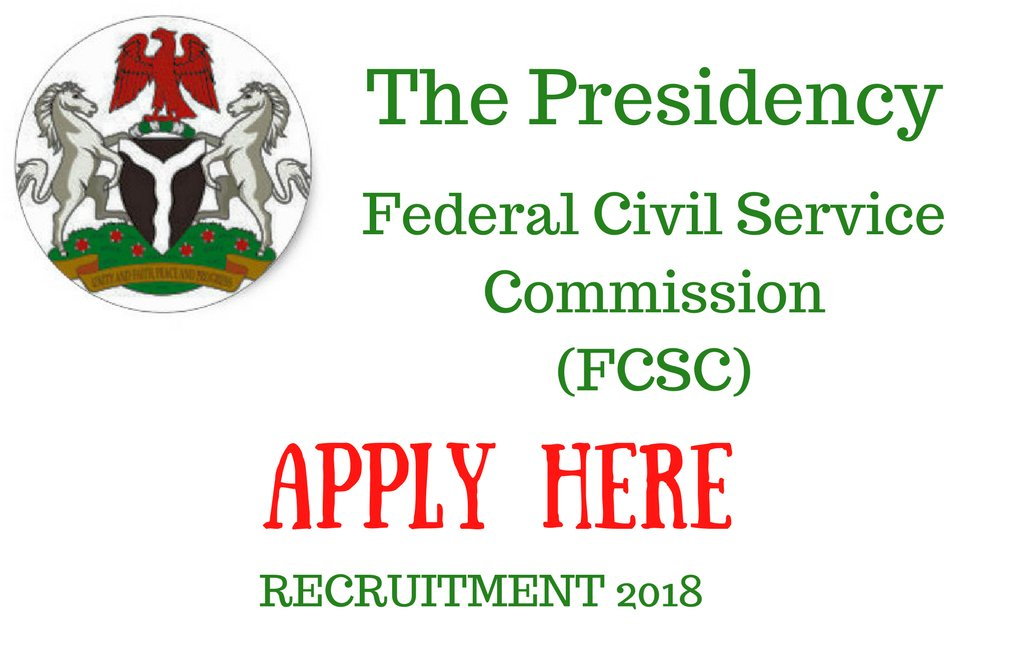 Photo of How to Apply For Federal Civil Service Commission (FCSC) 2017/2018 Recruitment