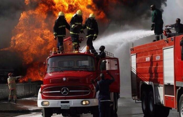 Fire Outbreak - Fire Guts NAFDAC Headquarters In Abuja