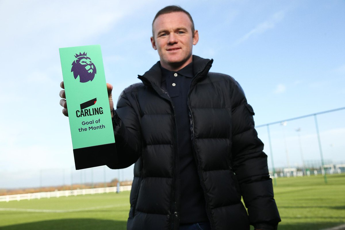 Photo of Wayne Rooney Wins Premier League Goal of Month Award For November