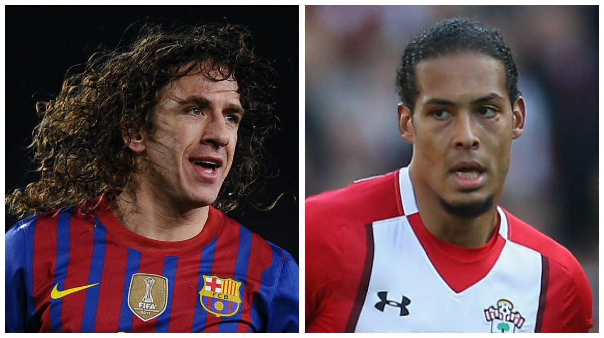 carles puyol virgil van dijk 1jldz65ma961813vg427c63hob - Puyol Reacts To Virgil Van Dijk Liverpool Move