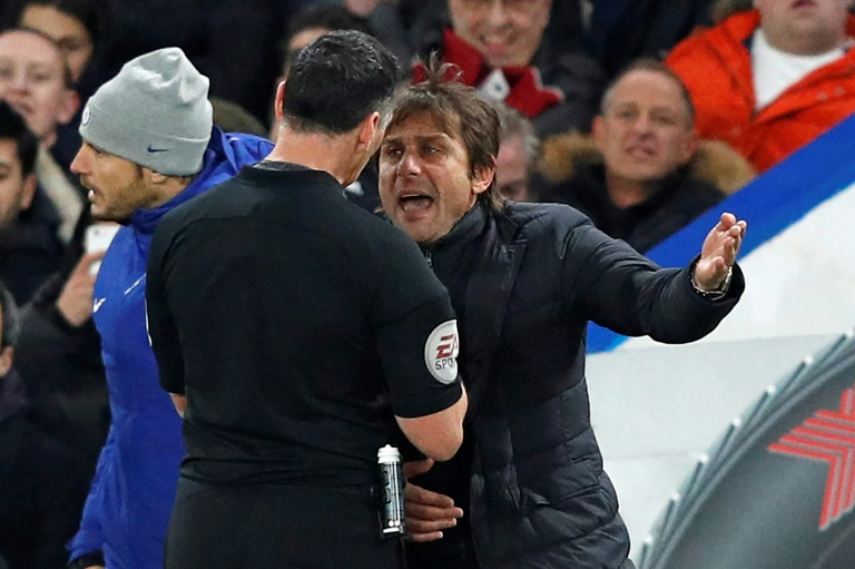 Photo of Conte Slammed with £8,000 Fine Over Ref Rant