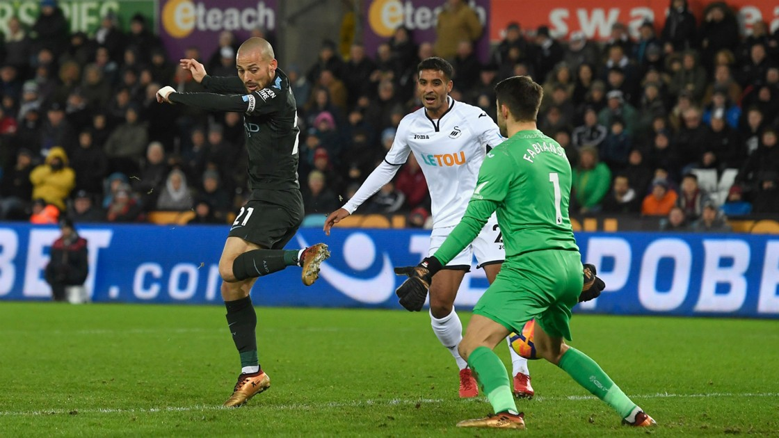 Download VIDEO: Swansea City 0-4 Manchester City (EPL) / Highlights & Goals