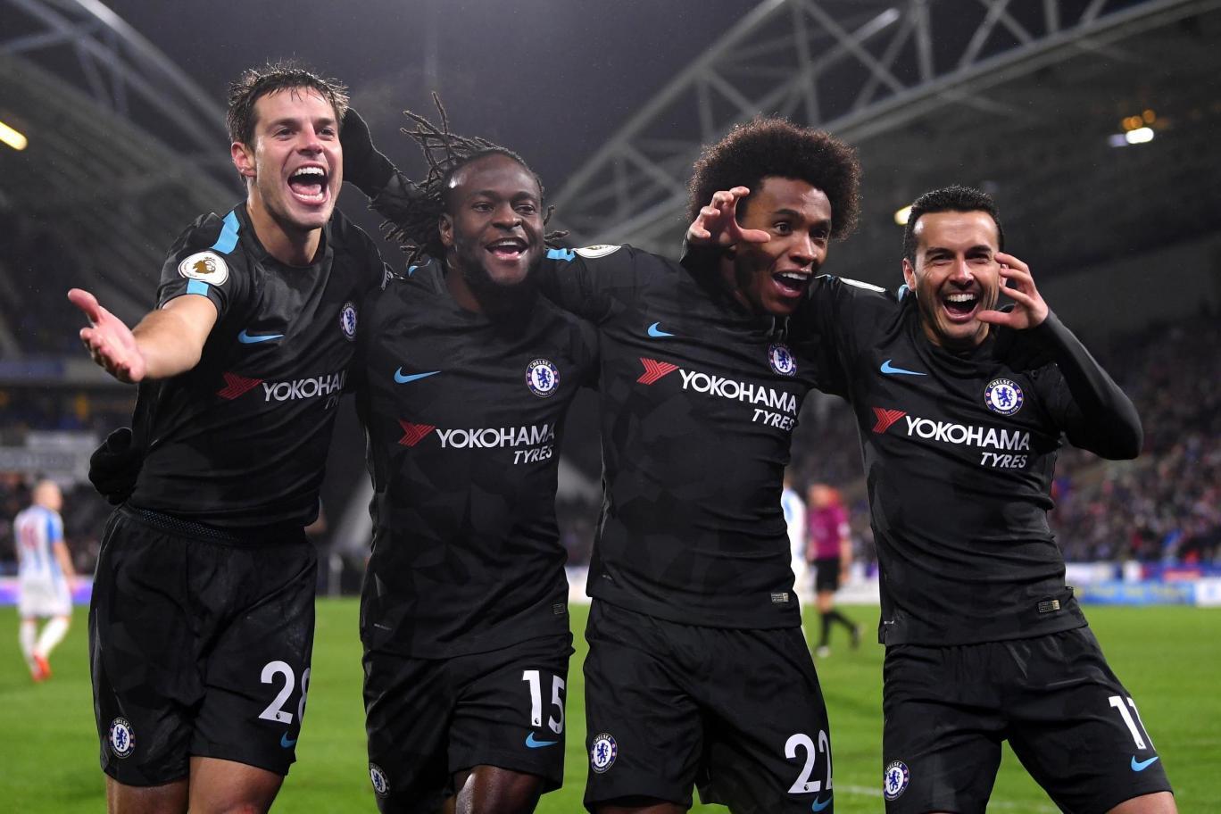 Download VIDEO: Huddersfield 1-3 Chelsea (EPL) / Highlights & Goals