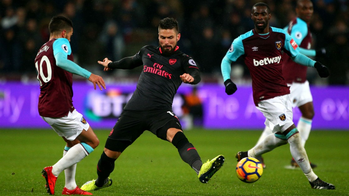 Download VIDEO West Ham 0-0 Arsenal (EPL) / Highlights & Goals
