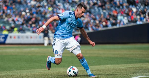 DONE DEAL: Manchester City complete the signing of winger Jack Harrison from New York City FC