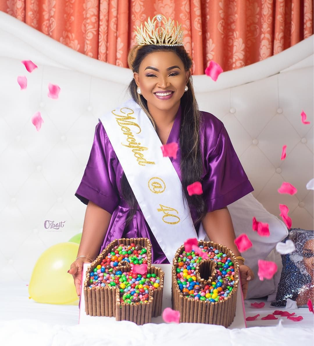 Photo of Mercy Aigbe Celebrates Her 40th Birthday With Stunning New Photos