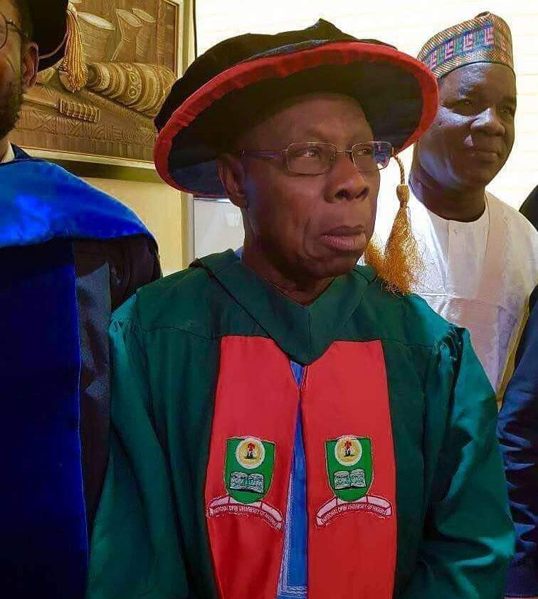 26073498 560672437648246 910631417208111104 n - Buhari Congratulates Obasanjo For Bagging PhD, Hails NOUN
