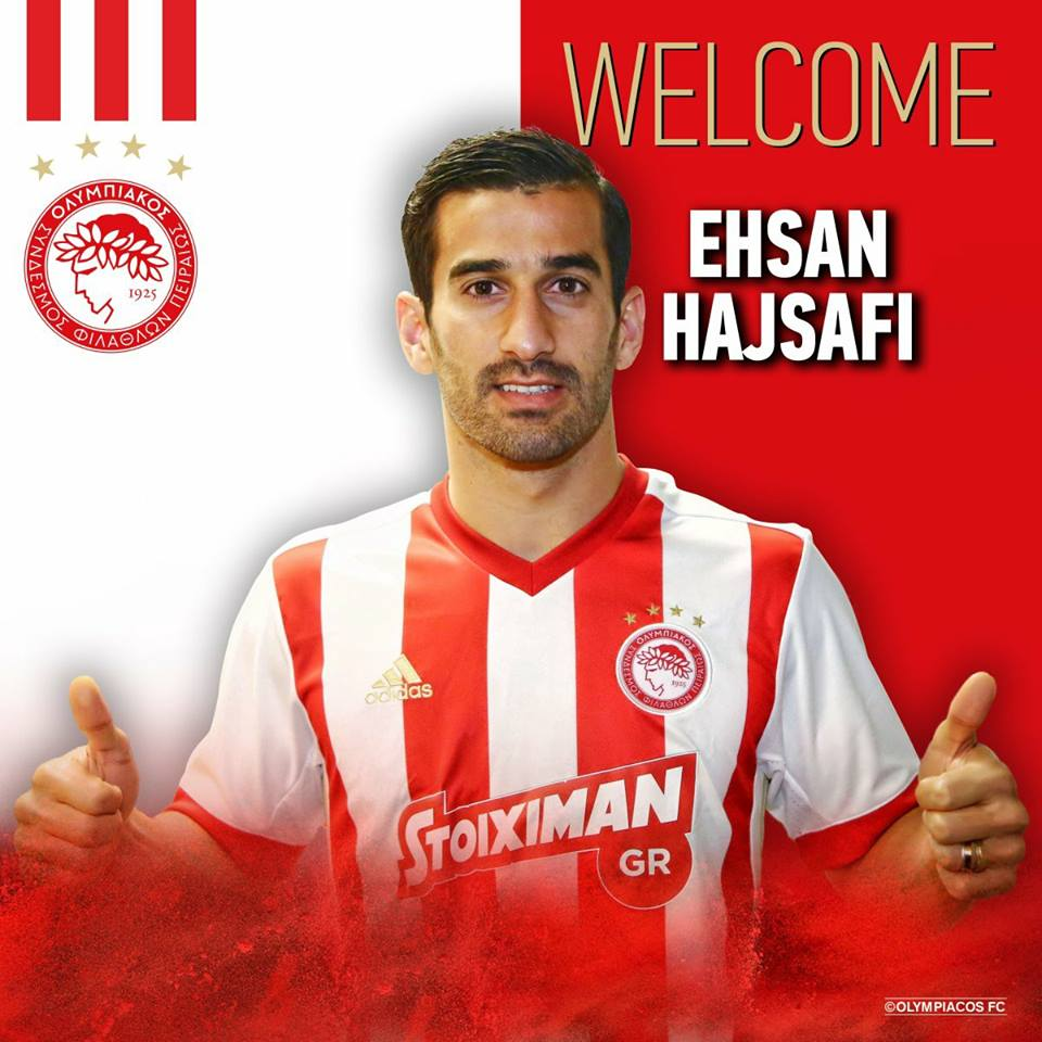 Photo of DONE DEAL : Olympiakos signing Iranian defender Ehsan Hajsafi from Panionios