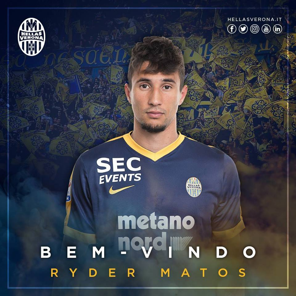 DONE DEAL: Hellas Verona sign Ryder Matos from Udinese on loan