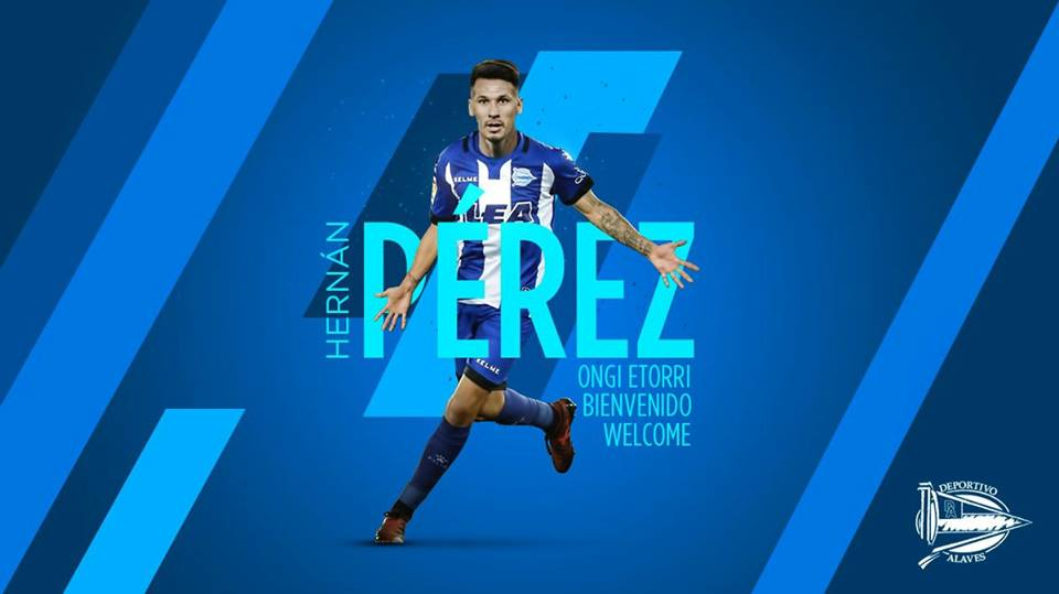 Photo of DONE DEAL: Alaves sign Espanyol winger Hernan Perez on loan.