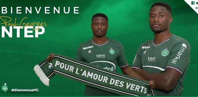 Photo of DONE DEAL: St Etienne complete the signing of Wolfsburg winger Paul-Georges Ntep on loan.