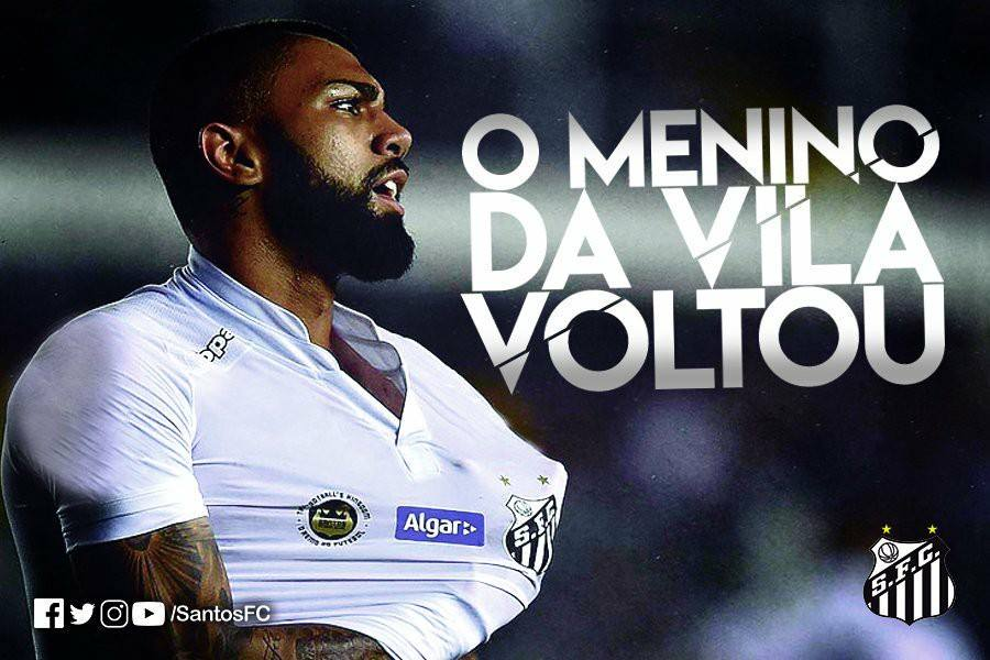 DONE DEAL: Santos FC sign Inter Milan forward Gabriel Barbosa on loan