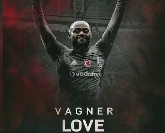 27336830 1919066001454092 1707930217786068541 n - DONE DEAL: Besiktas announce the signing of Brazilian striker Vagner Love from Alanyaspor.