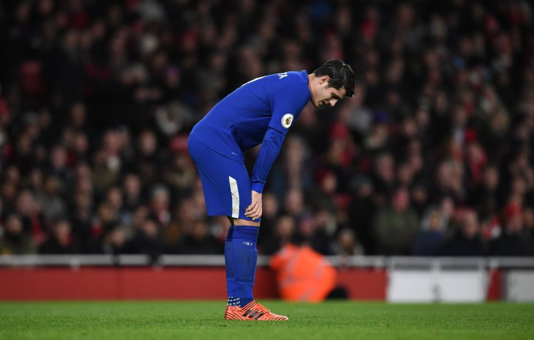 Photo of Morata Vows to Work Hard After Missed Chances Against Arsenal