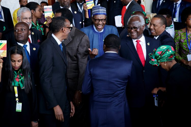 Photo of President Buhari Awarded AU's Anti-Corruption Champion In Addis Ababa