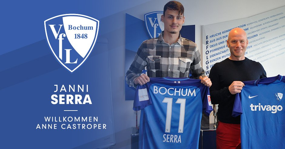 Photo of DONE DEAL: VfL Bochum complete the signing of Borussia Dortmund teenager Janni Serra on loan
