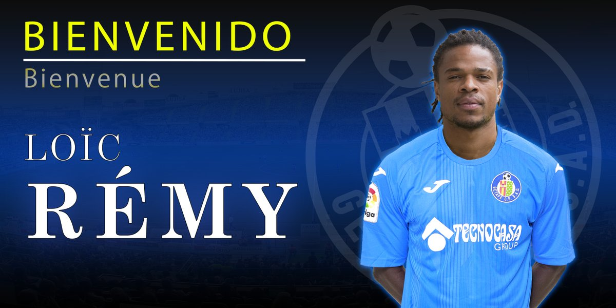 Photo of DONE DEAL: Getafe complete the signing of Loïc Rémy on loan from Las Palmas