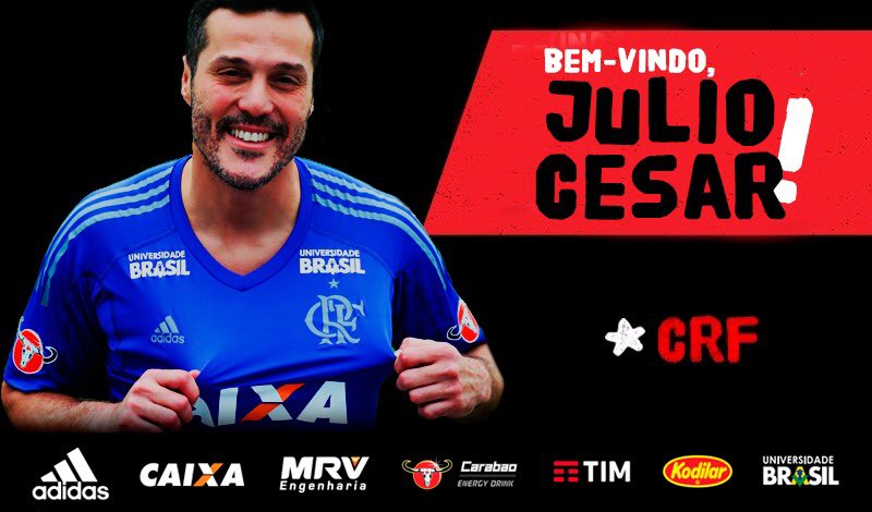 Photo of DONE DEAL: Flamengo announce the signing of goalkeeper Júlio César.