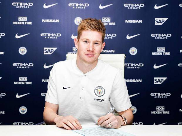 Photo of De Bruyne Signs New Deal with Manchester City