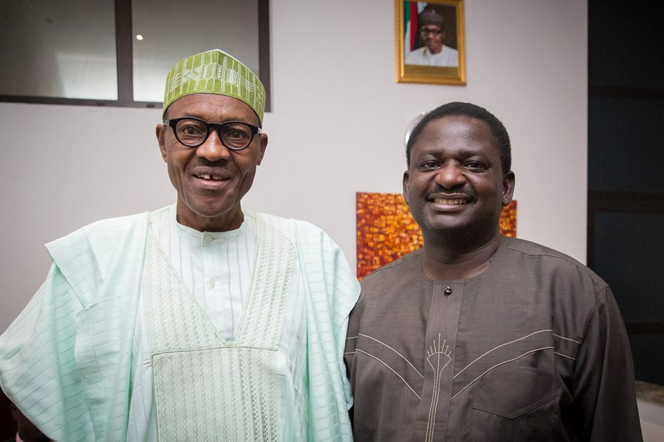 Femi Adesina and President Muhammadu Buhari - Why I Stand With Buhari - Femi Adesina Writes