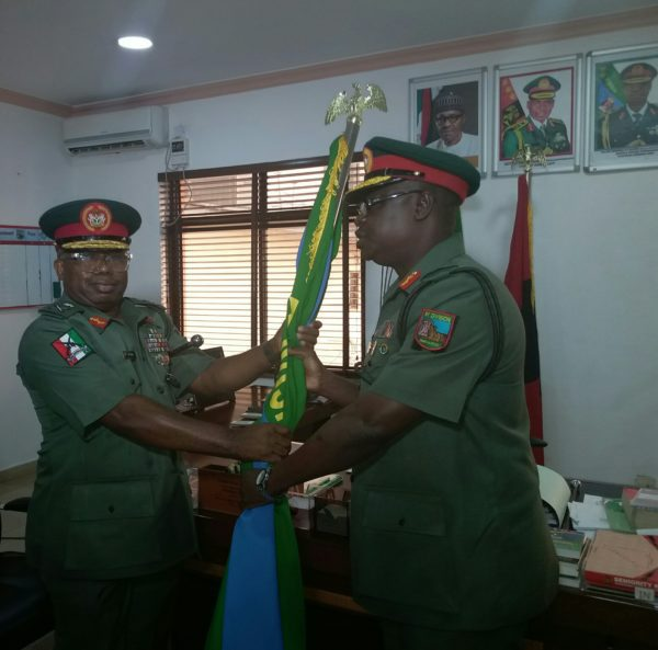 Photo of Maj.-Gen. Enebong Udoh Takes Over As New GOC of Nigeria Army 81 Division