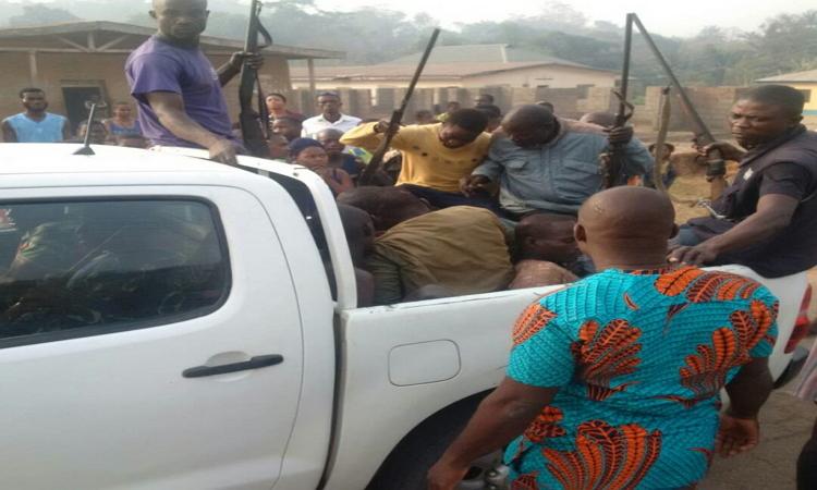 Herdsmen2 - Youths Arrest Armed Fulani Herdsmen In Delta