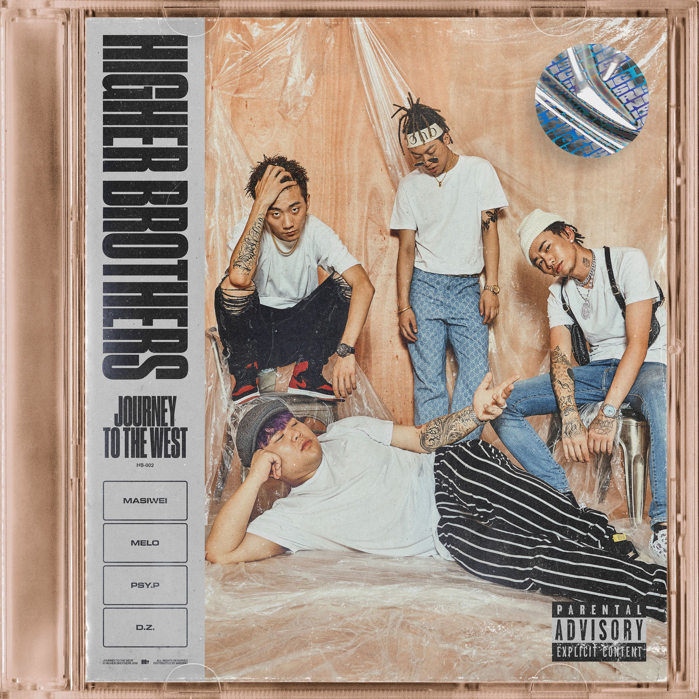 Higher Brothers - EP: Higher Brothers- Journey to the West