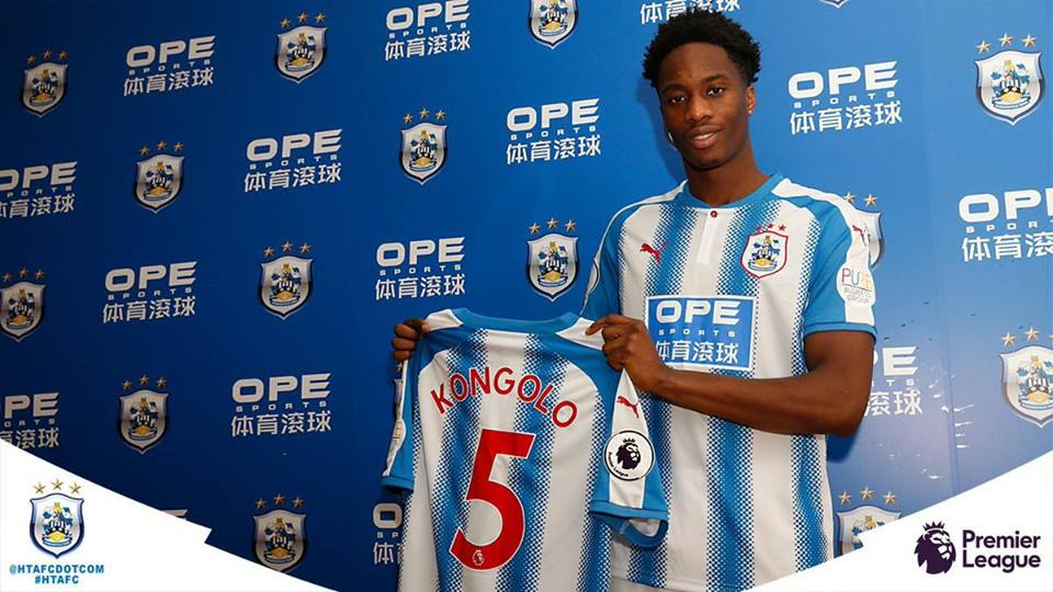 Huddersfield Town sign Terence Kongolo 23 on loan from AS Monaco. - DONE DEAL : Huddersfield Town Sign Terence Kongolo on loan from AS Monaco.