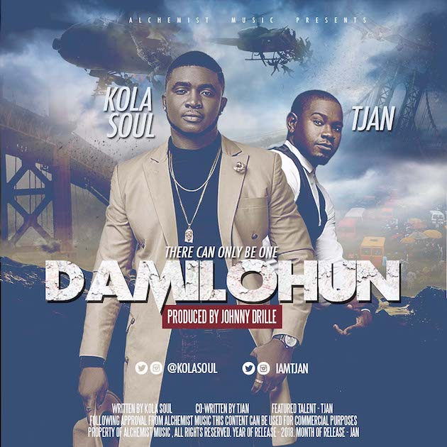 Photo of MUSIC: Kolasoul ft. Tjan – Damilohun
