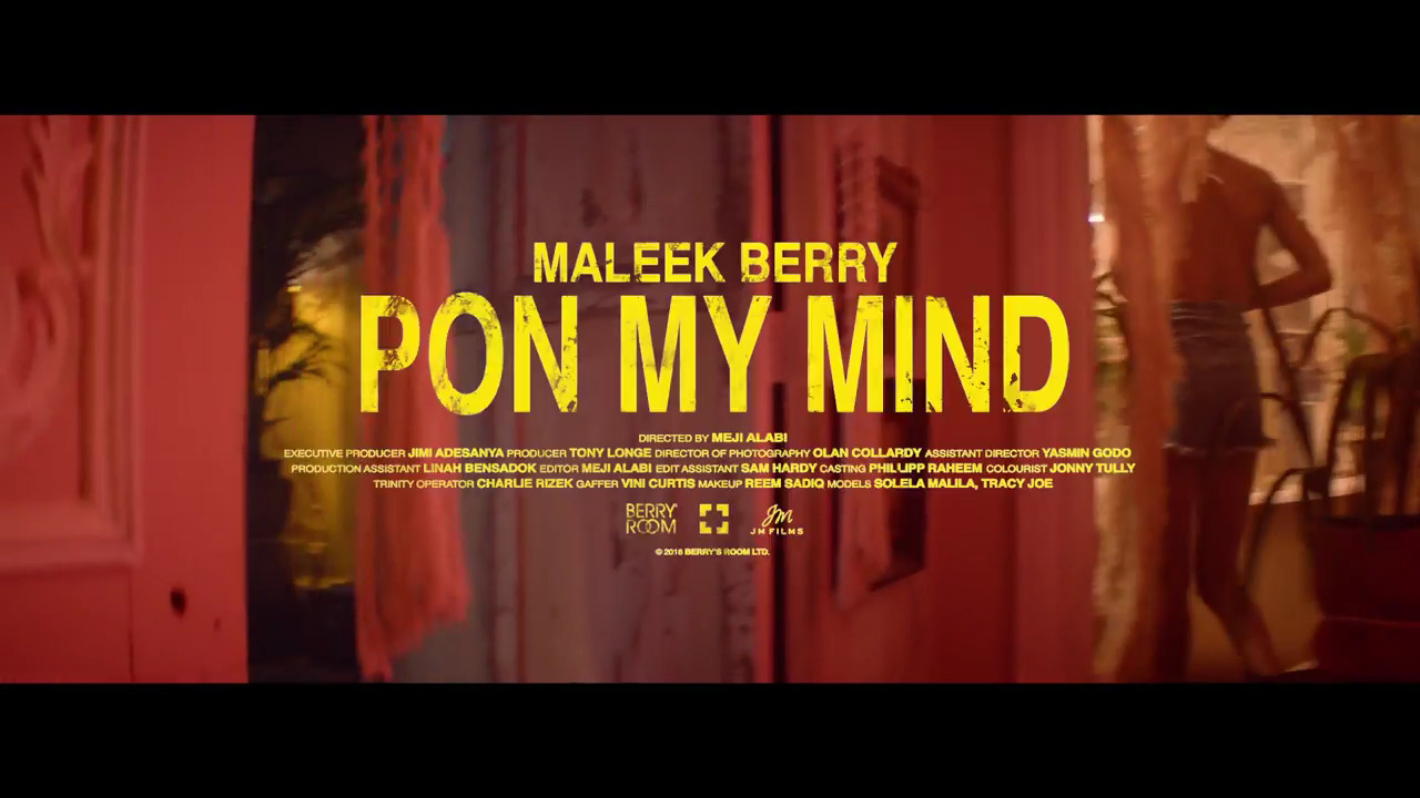 Photo of VIDEO: Maleek Berry – Pon My Mind