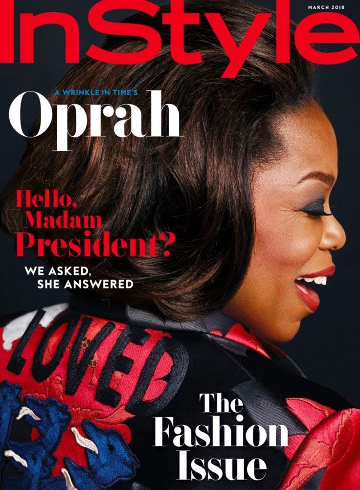 Oprah Winfrey 1 - Oprah Winfrey Covers March 2018 Issue Of Instyle Magazine - SEE PHOTOS
